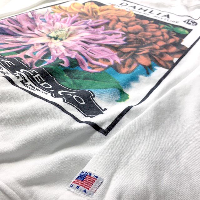 Flower Seeds Crew Neck Sweat