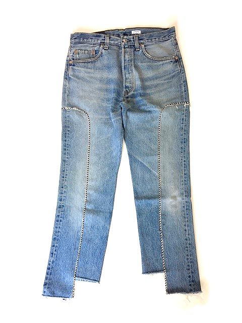WESTERN JEANS BLUE - A