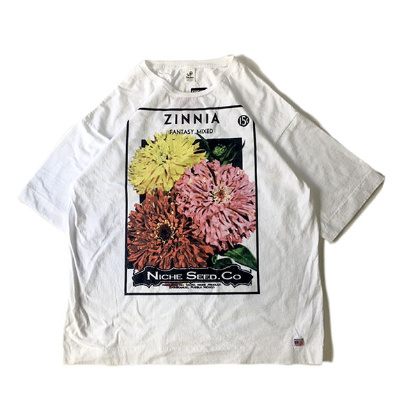 FLOWER SEEDS TEE / ZINNIA