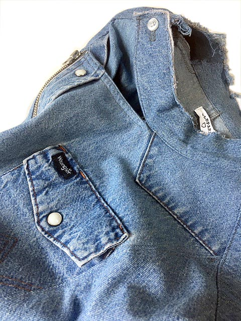 Riders Shirts Denim Western-A