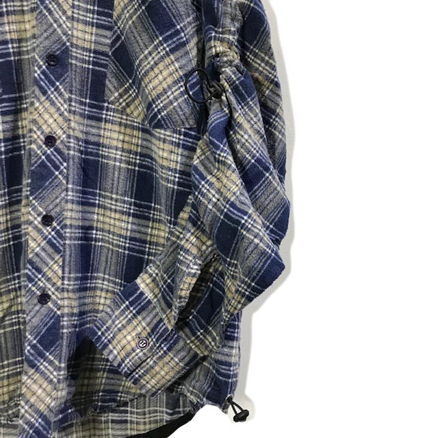 Shirring Shirts Flannel