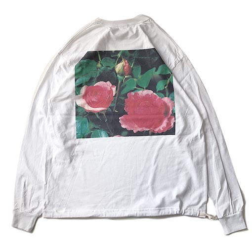 #Rose Long Sleeve T-Shirts YVES