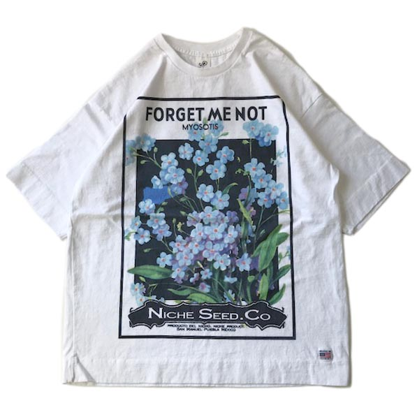 FLOWER SEEDS TEE / FORGET ME NOT
