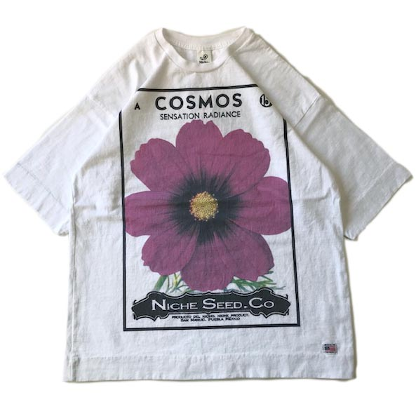 FLOWER SEEDS TEE / COSMOS