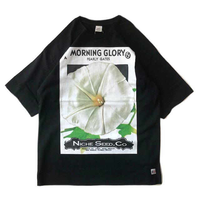 FLOWER SEEDS TEE  / COLOR SP MORNING GLORY