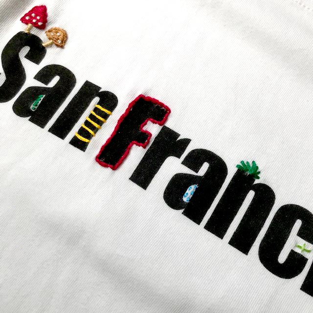 #Embroidery T-Shirts San Francisco