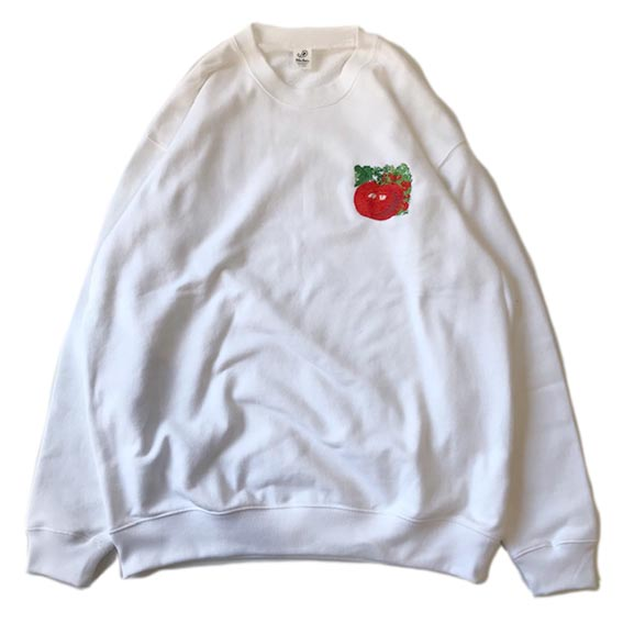 Vegetable EMB C/N Sweat - TOMATO
