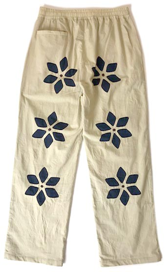 Flower Cut Work Easy Pants
