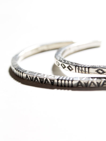 Stamped Bracelet by Rhett Lewis